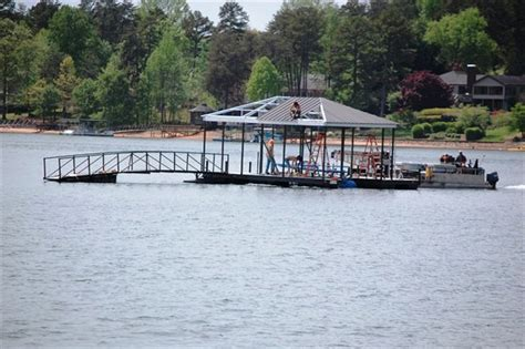 boat dock steel cable custom dock systems builds quality boat docks boat lifts