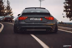tuning audi a5 wideboby rear