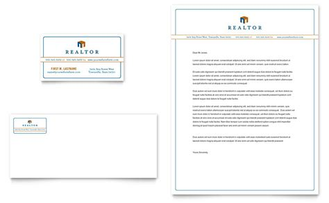 Free Window Card Templates Estate Agents by Real Estate Business Card Letterhead Template