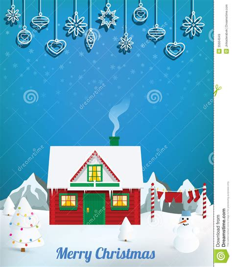 santa 180 s house royalty free stock images image 35664949