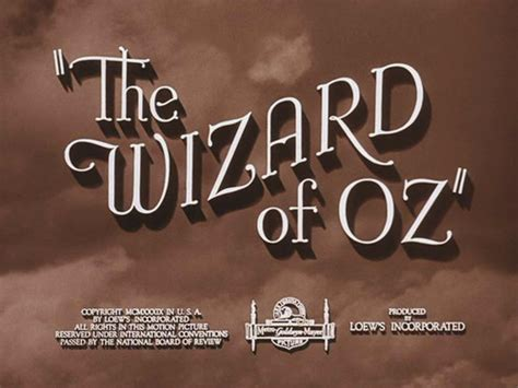 film with up in title movies images the wizard of oz movie title screen