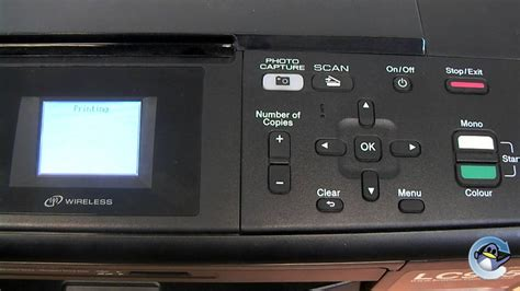 Printer Dcp J315w how to do a test print from a dcp j315w printer