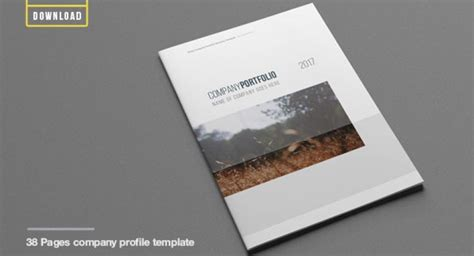 company profile design software free download company profile template free download