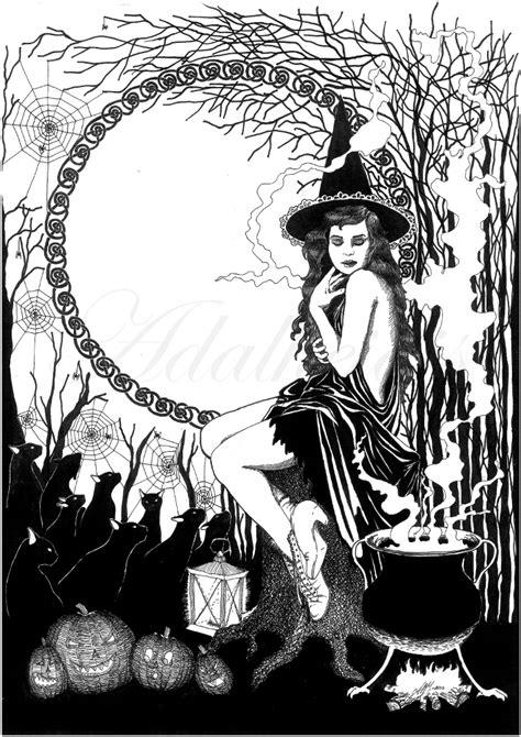 Halloween Witch by adalheidis on DeviantArt