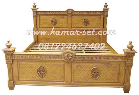 Dipan Kayu Simpel jual dipan jati ukiran ranjang kayu murah tempat tidur terbaru jepara kamar set