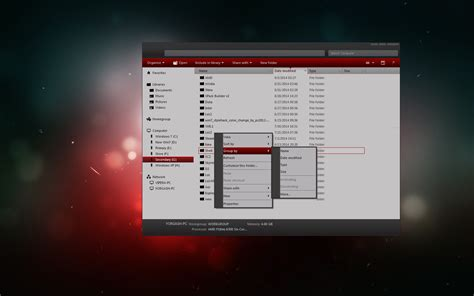 themes maker for windows 7 amd theme for windows 7 by creator lingolong