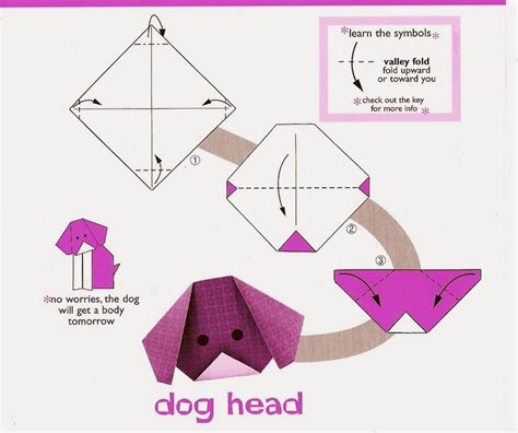 Puppy Origami - origami for origami tutorial