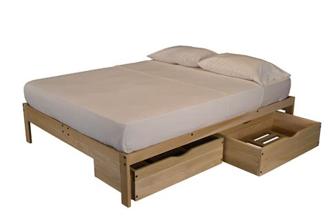 futon platform beds unfinished platform bed without headboard the futon