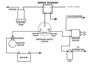 electric fuel pump power supply