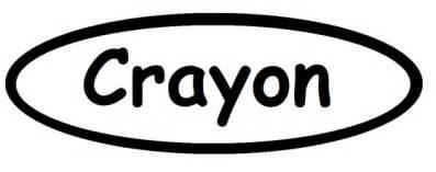 Diy Crayon Costume Crazycookup Crayon Label Template
