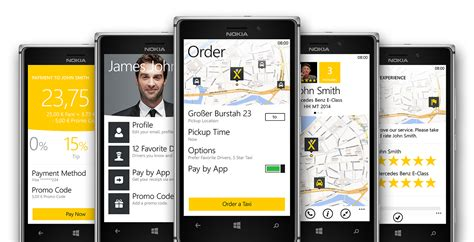 app layout change after phone call may we introduce the brand new windows phone app mytaxi