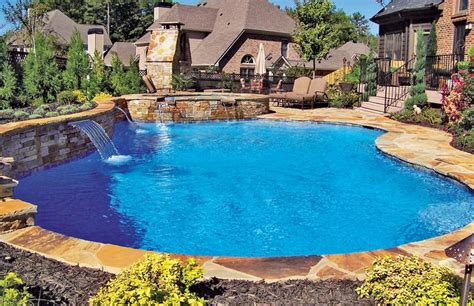 Backyard Paradise Pools by 25 Best Ideas About Blue Pools On