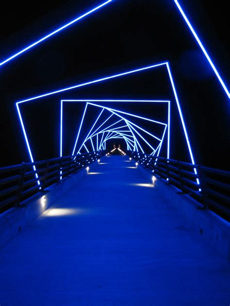 lights and more tunnel of neon lights outdoors neon