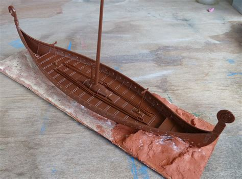 How To Make A Viking Longship Out Of Paper - build a model viking boat info kyk