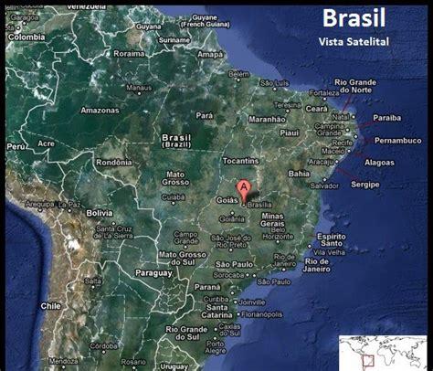 Imagenes Satelitales Brasil | mapa satelital