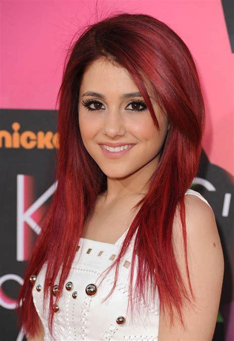 photos of arians hair ariana grande red hair color 2017 medium hairstyles ideas