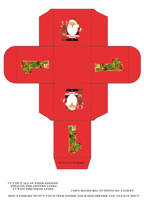 templates for christmas boxes christmas box template don t just like love