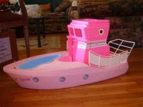 barbie boat bed craftiness now change of scene