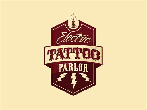 electric tattoo logo electric tattoo parlor