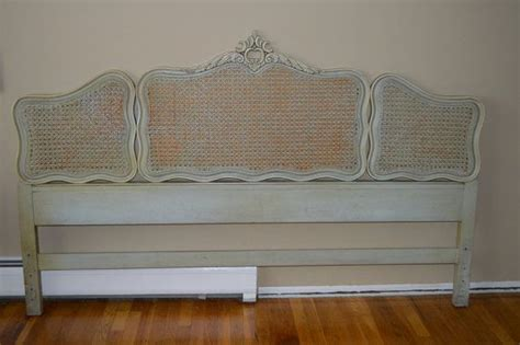 french louis xv style king size headboard  cane
