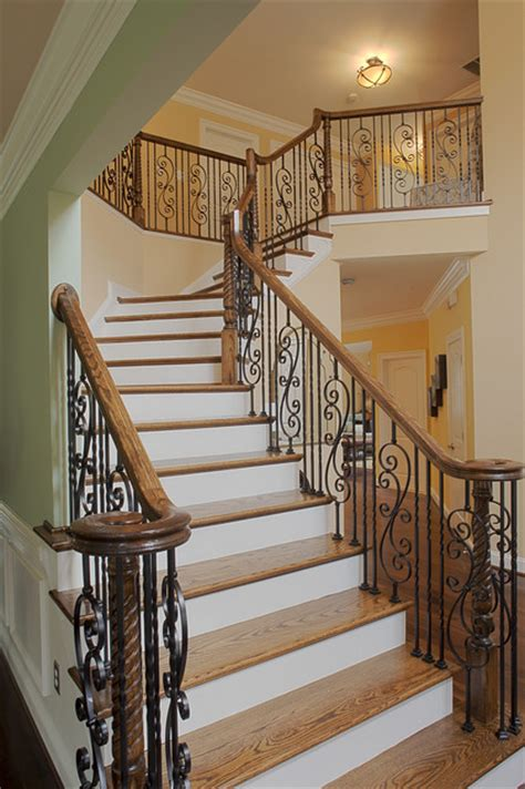 traditional staircases case design remodeling inc traditional staircase