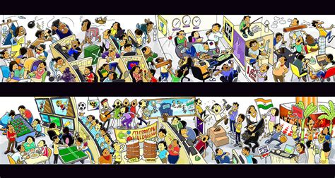 Cartoon Wall Murals wall art the other design studio