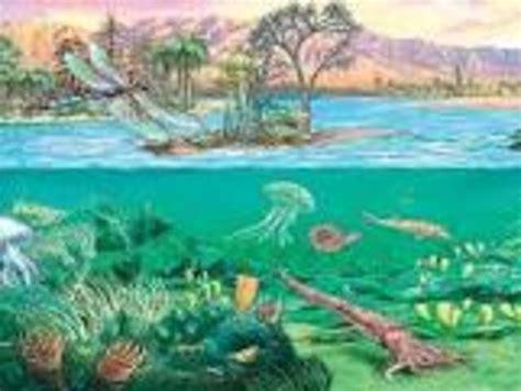 era paleozoica periodo devonico era paleozoica timeline timetoast timelines