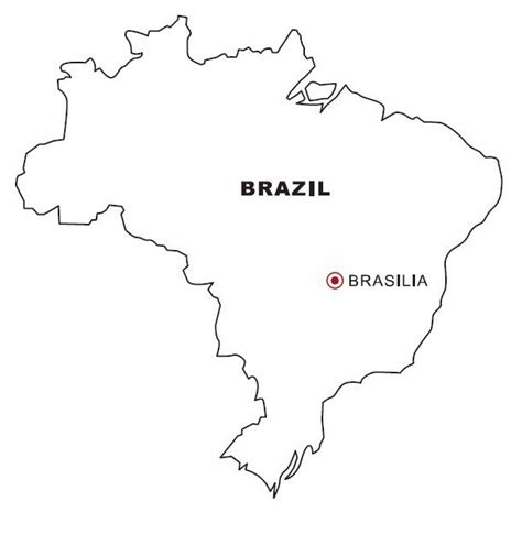 Coloring Page Map Of Brazil | free coloring pages of brazil carnival