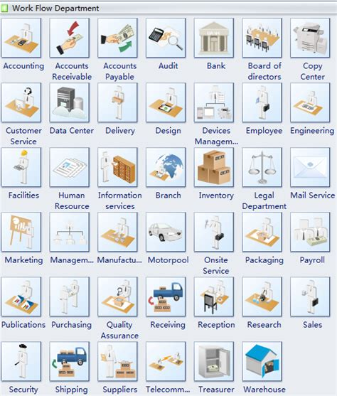 workflow diagram symbols workflow chart symbols various 3d workflow chart symbols