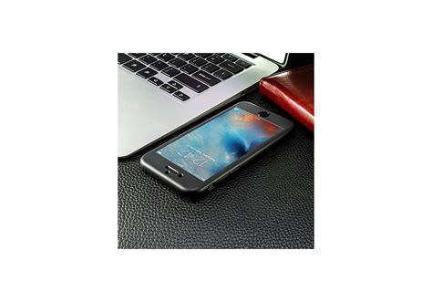 coque iphone   noir anti choc avant  arriere ecran verre trempe housse etui tpu en