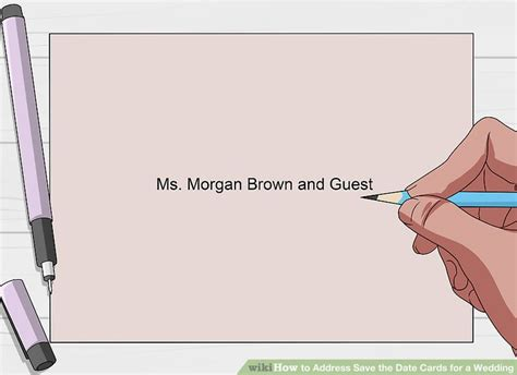 How To Address A Card For A Wedding