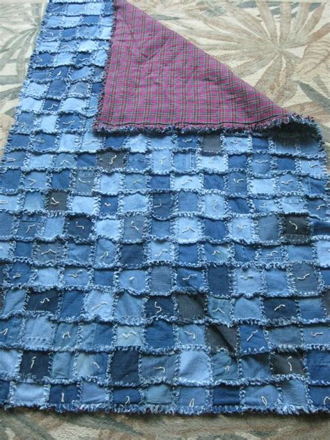 Denim Rag Quilt Pattern by 17 Best Ideas About Blue Jean Quilts On Denim