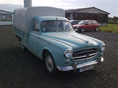 vintage cer awnings for sale peugeot 403 truck pickup with canopy french classic cars