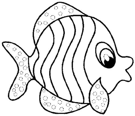 coloring page of fish az coloring pages