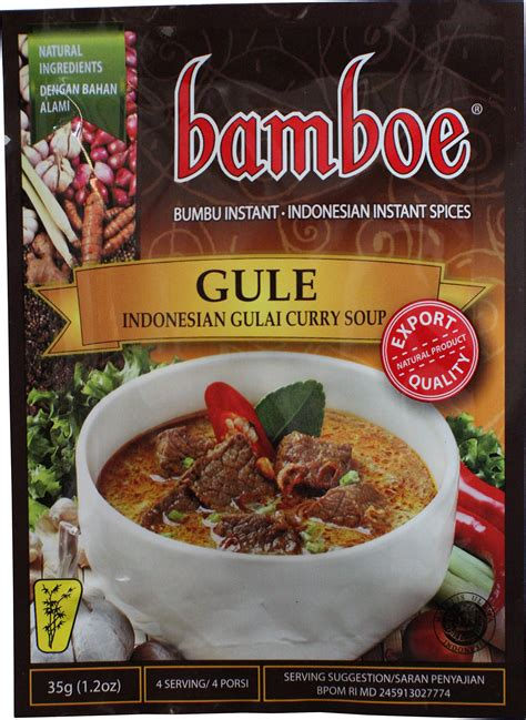 bamboe rendang curry paste