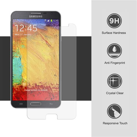 Tempered Glass Note 3 Neo tempered glass screen protector for samsung galaxy note 3 neo