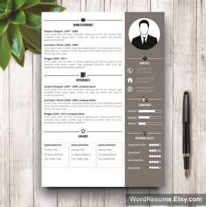 cv resume template professional resume template design jeff t chafin