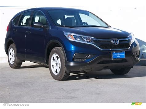 obsidian blue color 2015 obsidian blue pearl honda cr v lx 108369530 photo 2