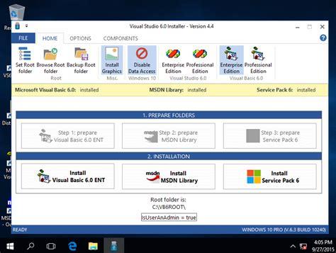 Windows 10 Visual Studio Tutorial | vb6 installazione su win10 visual basic 6