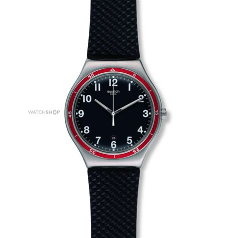 red swatch men s swatch red wheel watch yws417 watch shop com