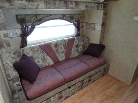 travel trailer sofa sleeper sleeper sofa trailer
