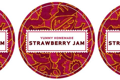 free jam label templates creating effective canning labels
