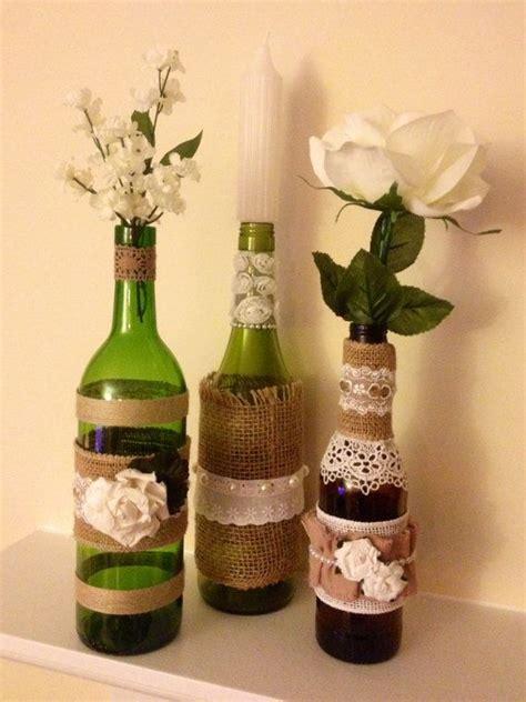 16 best images about wine bottle centerpieces on pinterest