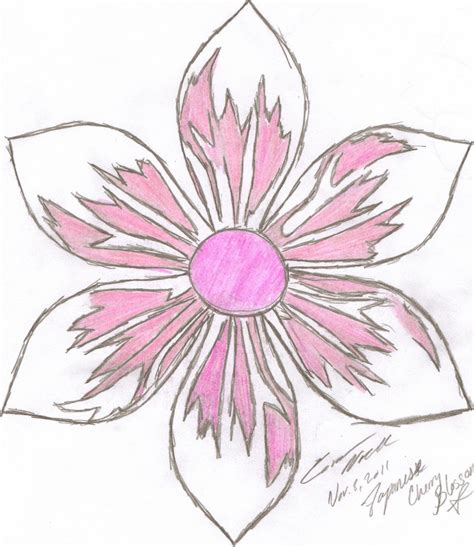 Drawings Of Flowers by Drawings Of Flowers Cliparts Co