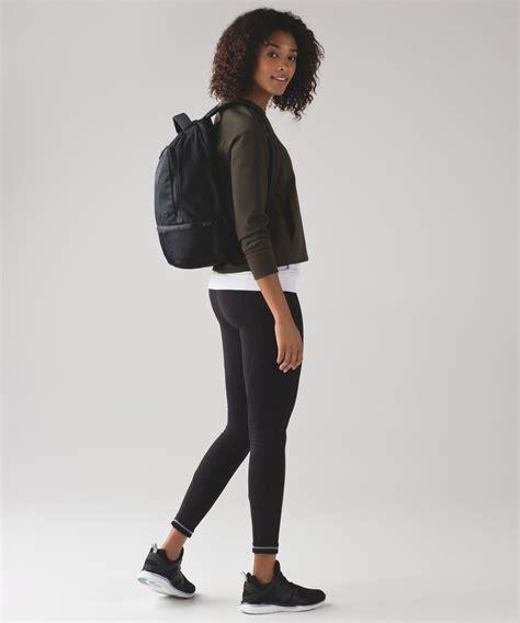 Lululemon Go Lightly Backpack Black Lulu Fanatics