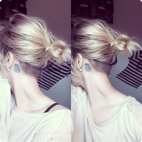 nape of neck hair cut for women 17 best ideas about undercut bob on pinterest short