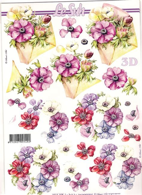 Decoupage Paper Flowers - 968 best images about 3d flowers on vintage