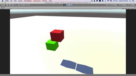 unity tutorial material scripting change material of an object unity tutorial
