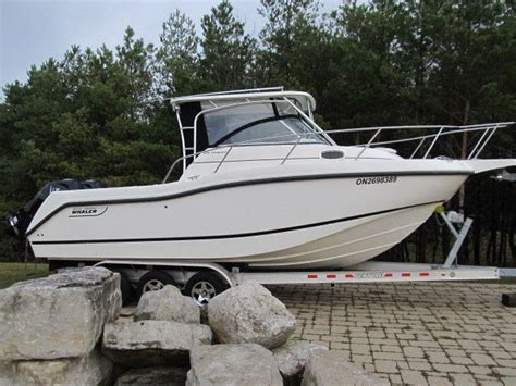 boston whaler boat dealer ontario canada boston whaler 255 conquest 2010 for sale for 86 500