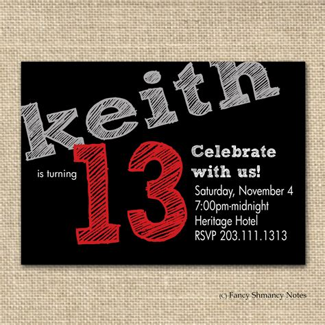 13th birthday invitation templates free 13th birthday invitation ideas bagvania free